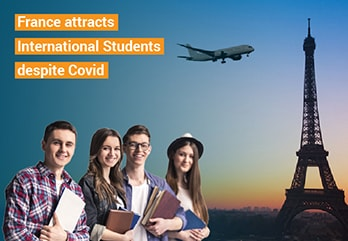 France continued to attract international students despite Covid